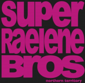 Super Raelene Bros t-shirt black